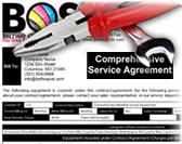 Copier Service Contract